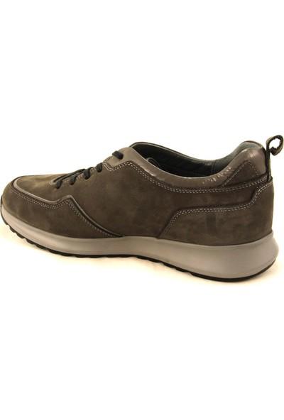 Forelli 43607 Erkek Gri Nubuk Comfort Ayakkabı