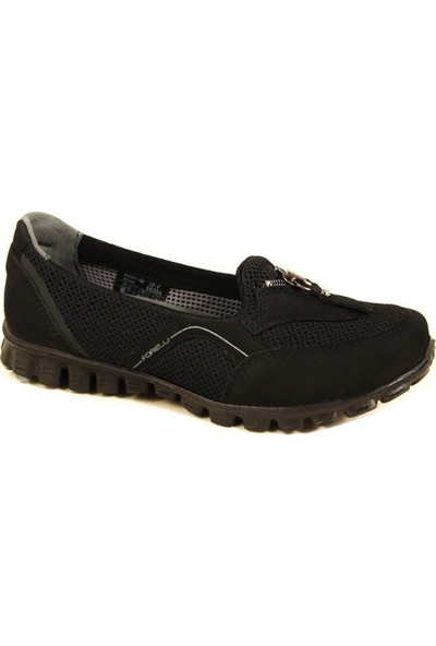Forelli 60040 Kadın Siyah Spor Ayakkabı