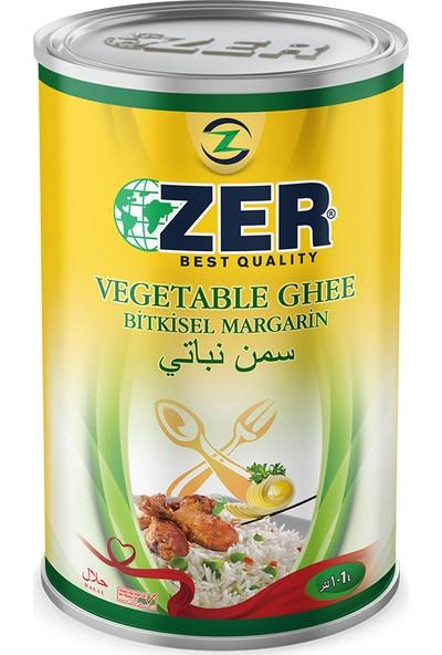 Zer Margarin 1 lt Teneke Kutu