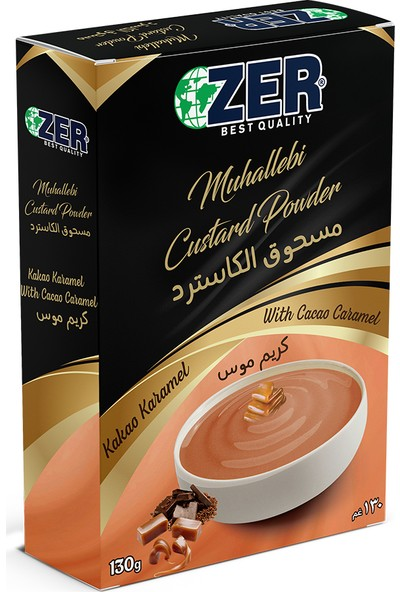 Zer Karamelli Muhallebi 130 gr Kutu
