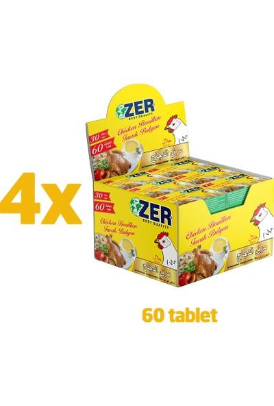 Zer Tavuk Bulyon Tablet 2'li x 30 x 4 Kutu