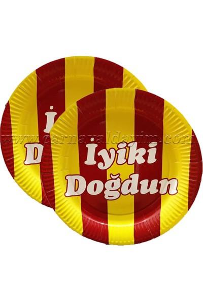 Crv Galatasaray Iyıkı Dogdun Karton Tabak 8 Adet