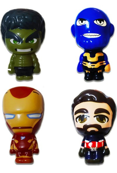 Play Seba Marvel Süper Kahramanları Squishy Seti