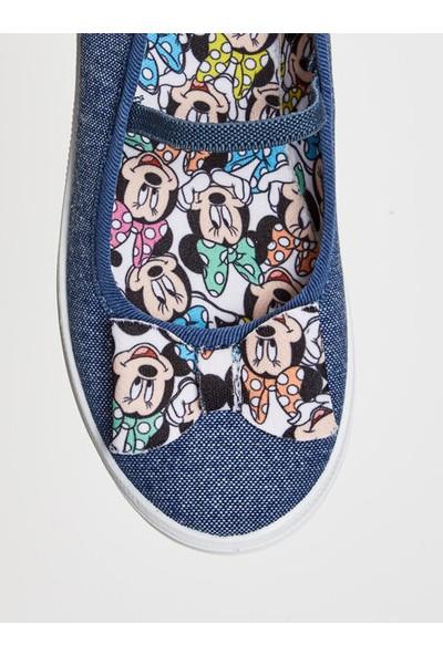 LC Waikiki Minnie Mouse Kız Çocuk Babet