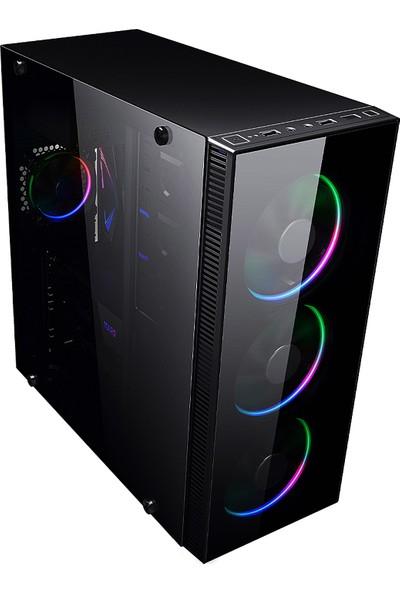 """İzoly N12x İ5-3470 3.60GHz 8GB 240SSD 500GB RX 550 4GB DDR5 21.5"""" Masaüstü Bilgisayar"""