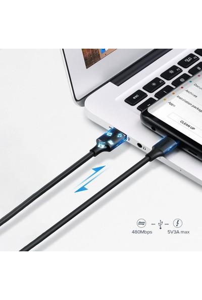 Ugreen USB Type-C Şarj ve Data Kablosu 50 cm