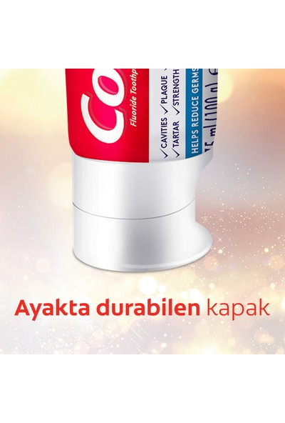 Colgate Total Profosyonel Aktif Etki Diş Macunu 75 ml Renk Değişim Teknolojisi ile