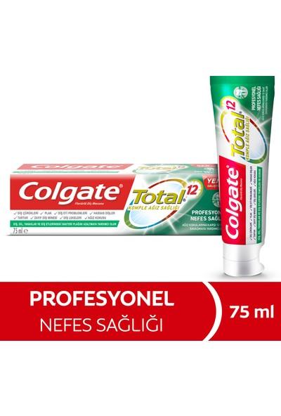 Colgate Total Profosyonel Nefes Sağlığı Diş Macunu 75 ml Ağız Kokusu için