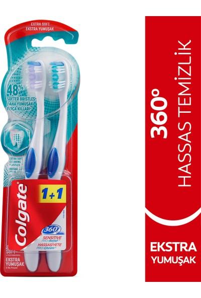 Colgate 360 Hassasiyete Pro Çözüm Diş Fırçası Extra Yumuşak 1+1