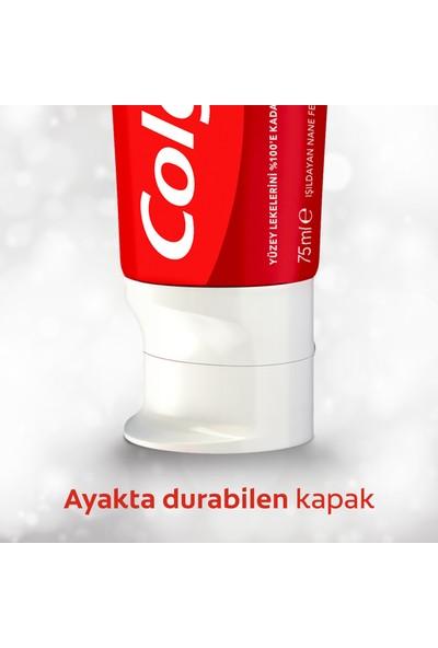 Colgate Optik Beyaz Anında Beyazlık Beyazlatıcı Diş Macunu 75 ml x 4 Adet