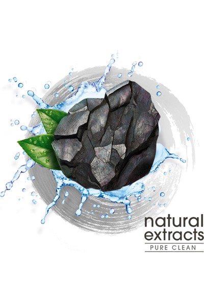 Colgate Diş Macunu Natural Extracts Aktif Kömür Saf Temizlik 75 ml x 4 Adet