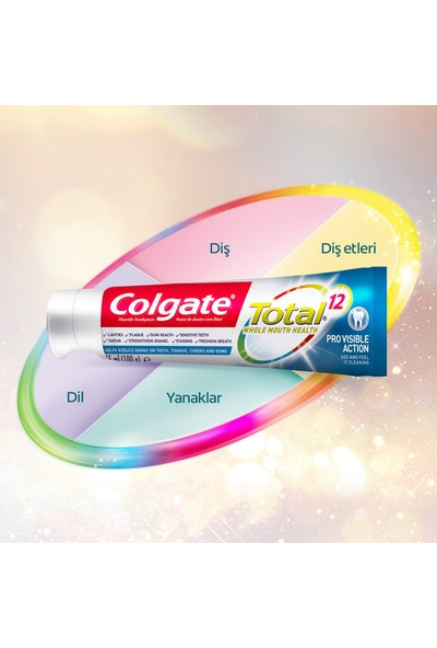 Colgate Total Profesyonel Aktif Etki Diş Macunu 75 ml x 2 Adet
