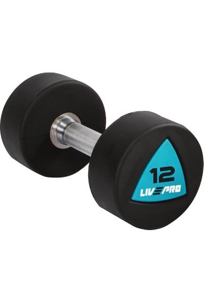 Livepro LP8002 12 kg Poliüretan Dambıl
