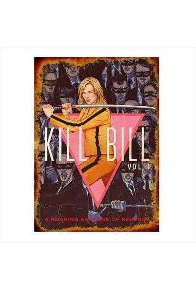 Tablomega Kill Bill Tasarım Ahşap Tablo