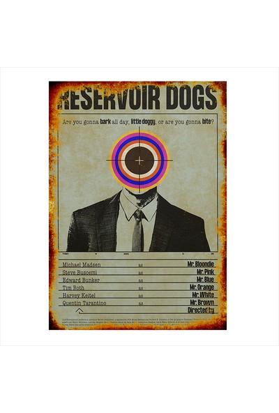Tablomega Reservoir Dogs Desenli Mdf Tablo