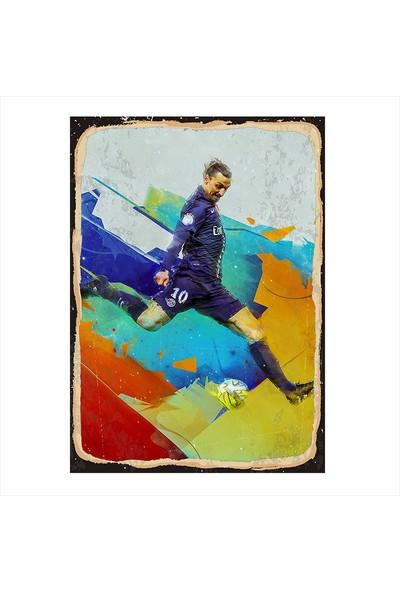 Tablomega Zlatan Ibrahimovic Modern Ahşap Tablo