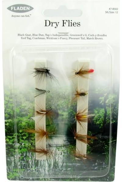 Fladen Dry Flies Fly Sinek Seti No:12 10P
