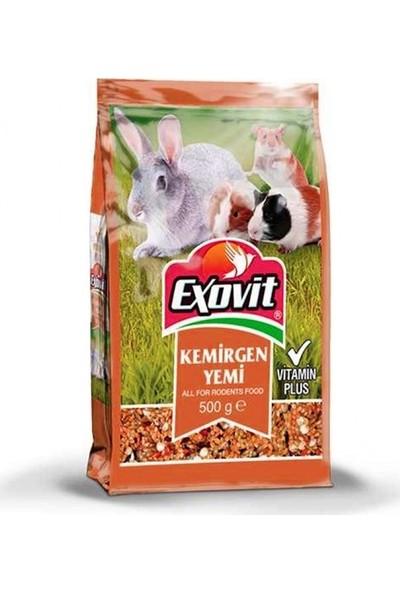 Exovit Kemirgen Yemi Tavşan veHamster Yemi500 gr