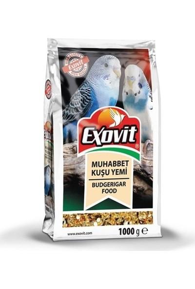 Exovit Yetişkin Muhabbet Kuşu Yemi 1000 gr