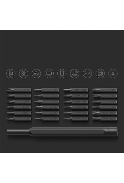 Xiaomi Mijia Wiha 24'lü Hassas Tornavida Seti (Yurt Dışından)