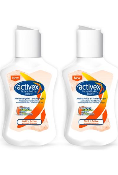 Activex Antibakteriye El Temizleme Jeli Aktif 2 x 100 ml