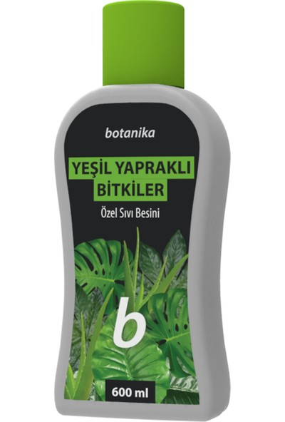 Botanika 5010 (Yeşil) - Yeşil Yapraklı Bitkiler İçin Özel Sıvı Besini 600 ML