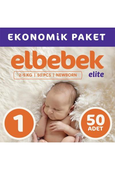 Elbebek Elite Bebek Bezi 1 Numara Yenidoğan 50 Adet