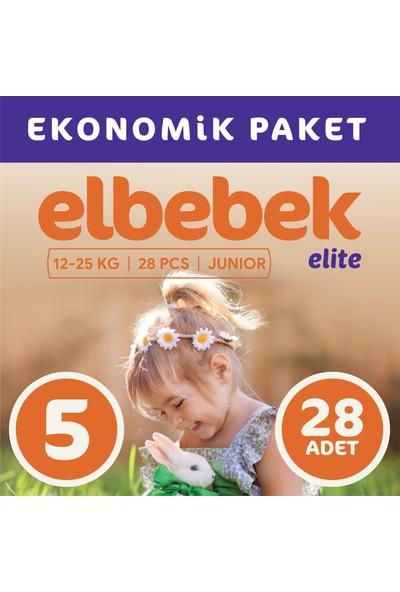 Elbebek Elite Bebek Bezi 5 Numara Junior 28 Adet