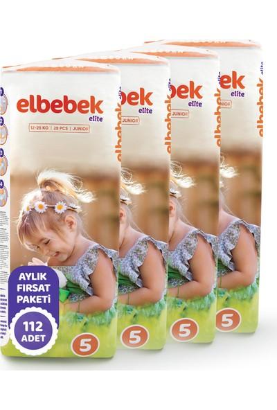 Elbebek Elite Bebek Bezi 5 Numara Junior 112 Adet