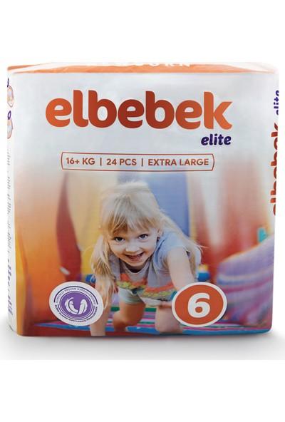 Elbebek Elite Bebek Bezi 6 Numara X Large 24 Adet