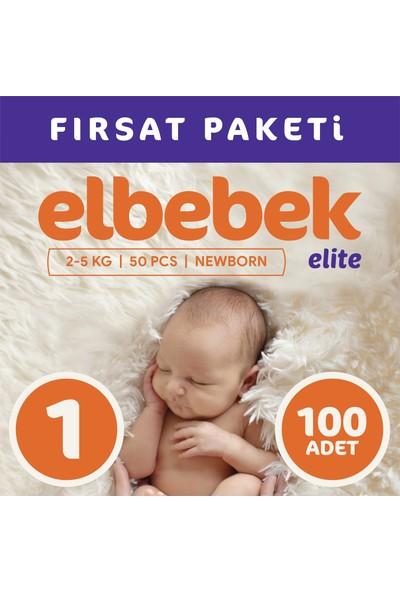 Elbebek Elite Bebek Bezi 1 Numara Yenidoğan 100 Adet