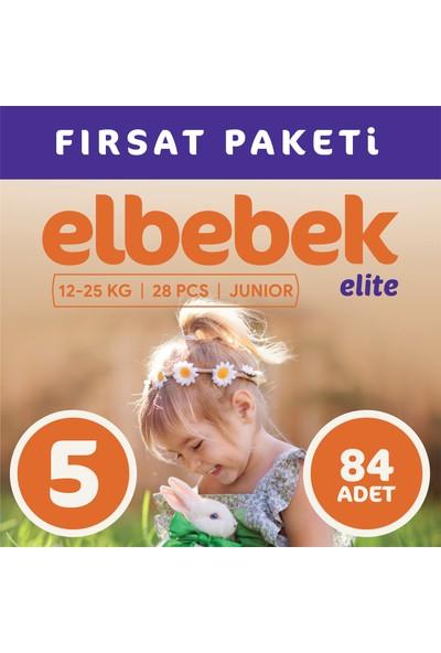 Elbebek Elite Bebek Bezi 5 Numara Junior 84 Adet