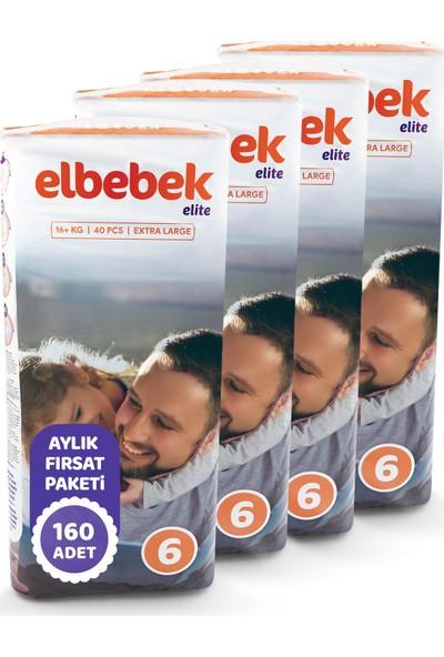 Elbebek Elite Bebek Bezi 6 Numara X Large 160 Adet