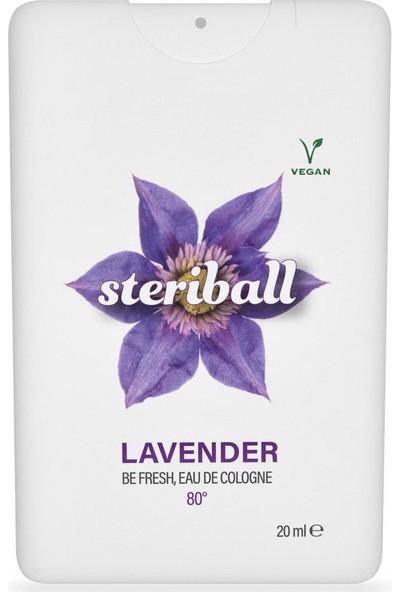 Steriball Be Fresh Kolonya Lavanta 20 ml