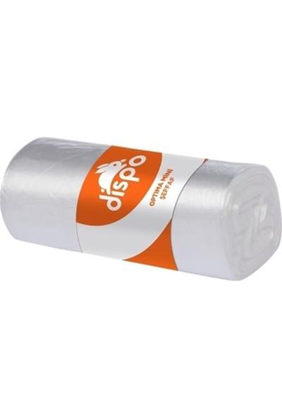 Dispo Standart Mini Şeffaf Çöp Torbası 40'lı 40 x 50 cm