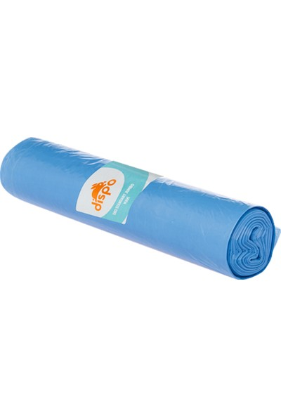 Dispo Eko Standart Jumbo Mavi Çöp Torbası 10'lu 80 x 110