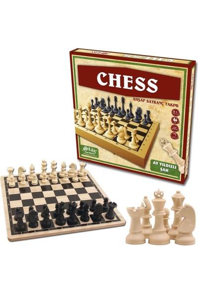 Kullan At Party Chess Ahşap Satranç Takımı