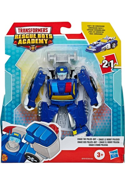 Hasbro Transformers Rescue Bots Academy Polis-Robot Chase Figür