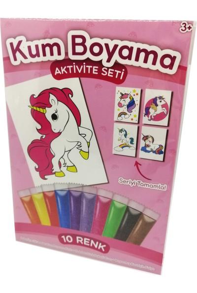 Kumbo Kum Boyama Prenses Unicorn Kum Boyama Aktivite Seti