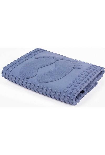 Arya Home Winter Soft Paspas 50X70 Mavi