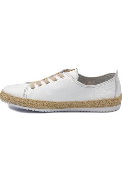 Freefoot Özel 110 Beyaz Deri Casual Ayakkabı