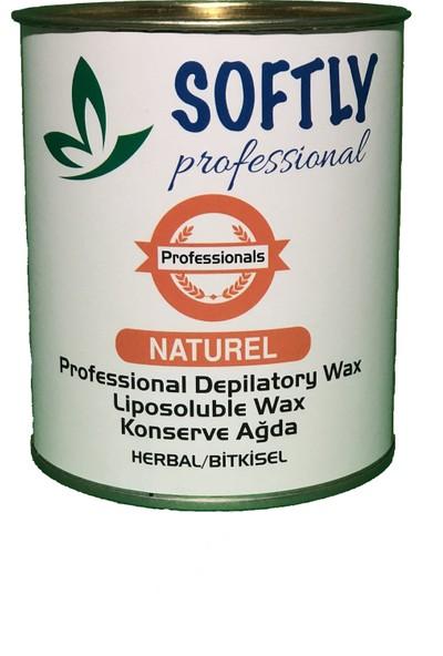 Softly Proffeesional Konserve Ağda Naturel 800 ml