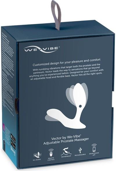 We-Vibe Vektör Akıllı Telefon Uyumlu Prostat Masaj Vibratörü+We-Vibe Jel