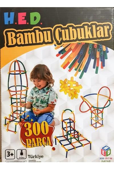 Hobi Eğitim Dünyası Bambu Çubuklar 300 Parça
