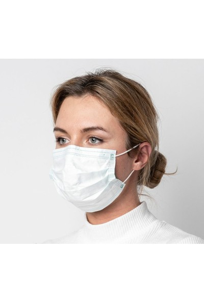 Dost 3 Katlı Burun Telli Cerrahi Maske 10 Adet 10'lu