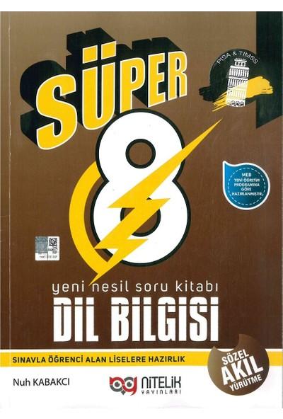 Nitelik Yayınları 8. Sınıf Süper Dil Bilgisi Yeni Nesil Soru Kitabı
