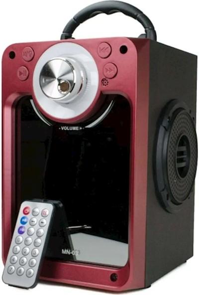 Yetty PLO-MN03 Taşınabilir Radyolu Bluetooth Hoparlör