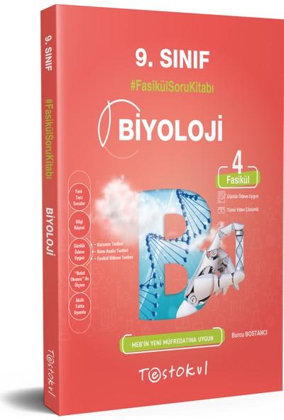 Testokul Yayınları 9.sınıf Biyoloji Fasikül Soru Kitabı