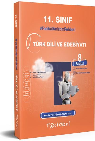 Testokul Yayınları 11.sınıf Türk Dili ve Edebiyatı Fasikül Soru Kitabı