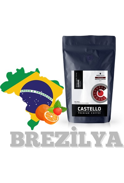Castello Gurme Drip Kahve 250 gr